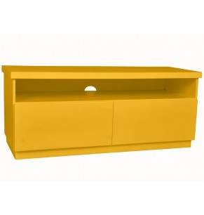 Rack Imperador Amarelo - Hacke Móveis
